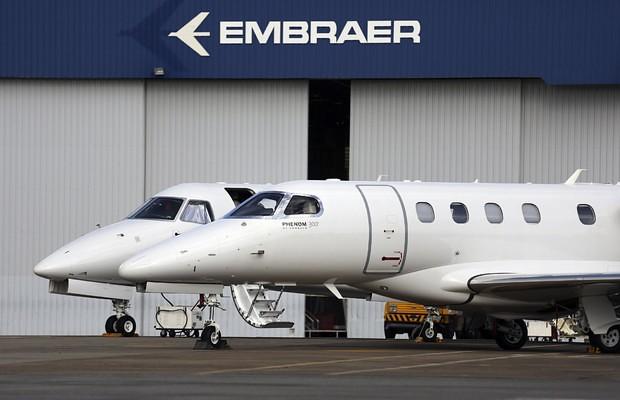Criada em 1969, Embraer é referência mundial na fabricação de aeronaves - Créditos: Divulgação Embraer