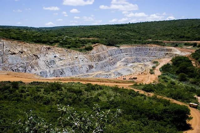 Mina de Caetité, na Bahia: a maior do país - Créditos: Marcelo Corrêa / INB
