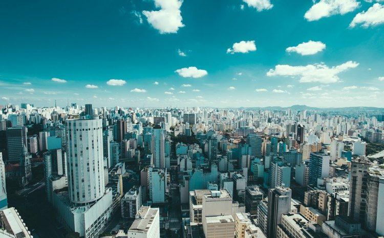 Brasil, Edifícios, Cidade, Cityscape, Nuvens, São Paulo