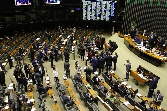 Plenário da Câmara durante votação de segundo turno da reforma da Previdência - Créditos: Fabio Rodrigues Pozzobom/Agência Brasil