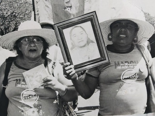 Maria da Soledade e Luzia Soares, companheiras de Margarida que nos ajudam a contar sua história - Créditos: Arquivo Pessoal