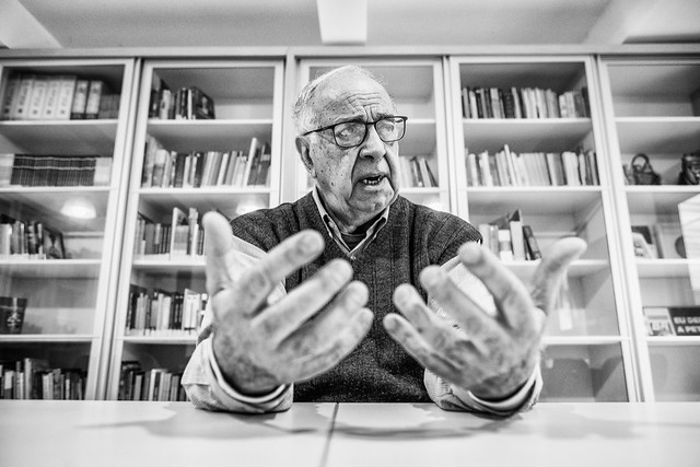 """""""Nossa mídia tem um posicionamento ideológico, ela não é nacionalista"""", disse o ex-diretor - Créditos: Foto: Gibran Mendes"""